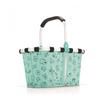 Carrybag XS Kids cats & dogs mint