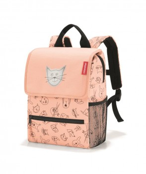 Backpack Kids cats & dogs rose