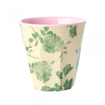 Becher Green Rose