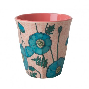 Becher Blue Poppy